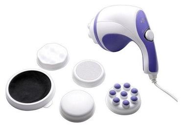 Массажер Relax Spin & Tone, 0.94 кг, белый/фиолетовый