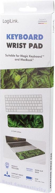 "LogiLink Gaming Keyboard Wrist Pad ""Forrest"" Small"