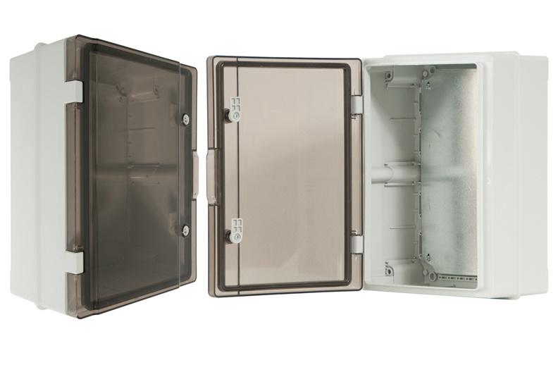 Paskirstymo skydas Pawbol C.1602UV, 410x310x170 mm, IP65, plastikinis