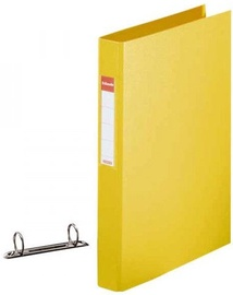 Esselte Folder 2 Rings 4cm Yellow