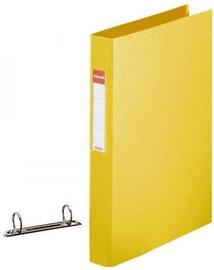 Esselte Folder 2 Rings 4cm Yellow