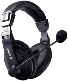 Ausinės Tracer Explode Headset Black