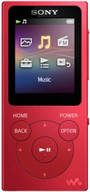 Grotuvas Sony NW-E394 Red, 8 GB