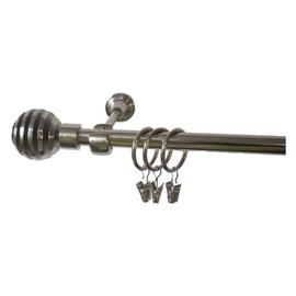 Viengubo karnizo komplektas Domoletti F511252, 240 cm, Ø 16 mm