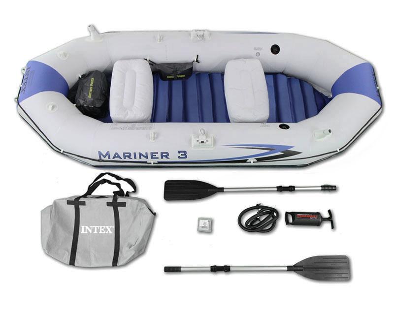 Trivietė pripučiama valtis Intex Mariner 3