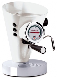 Bugatti Diva Espresso Coffee Machine 15-DIVAC1 White