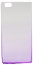 Mocco Gradient Color Back Case For Samsung Galaxy A5 A510 Transparent/Purple