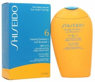 Shiseido Sun Care Tanning Emulsion SPF6 150ml
