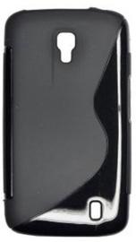 Forcell Back Case S-Line for LG P936 Optimus LTE Black