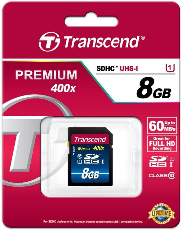 Transcend 8GB SDHC Premium Class 10 UHS-I 400x
