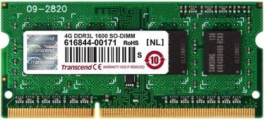 Operatīvā atmiņa (RAM) Transcend TS512MSK64W6H DDR3 (SO-DIMM) 4 GB