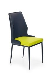 Kėdė Halmar K-199, juodos ir žalios spalvų