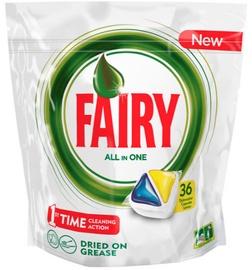 Fairy Dishwashing Tablets All In One Lemon 36pcs