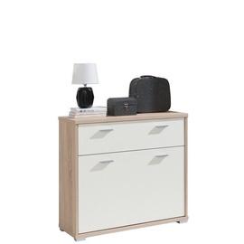 Jurek Meble Sara Shoe Cabinet Sonoma/Cream