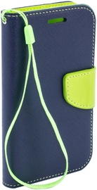 Telone Fancy Diary Bookstand Case For Apple iPhone 7 Plus Blue/Light Green