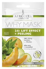 Afrodita Why Face Mask 24h Lift Effect + Peeling 6ml + 6ml