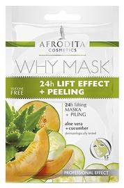 Afrodita Why Face Mask 24h Lift Effect + Peeling 6ml + 6ml