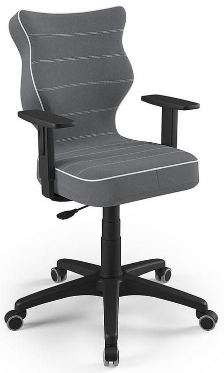 Детский стул Entelo Duo Size 6 JS33, черный/серый, 400 мм x 1045 мм