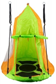 4IQ Swing Stork's Nest with a Tent Orange/Green