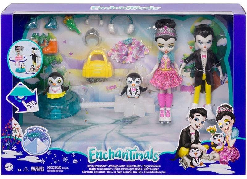 Кукла Enchantimals Darling Ice Dancers GJX49