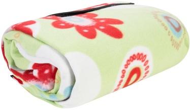 Matracis piepūšams Home4you Blanket Picnic Fun 150x180cm Time Green/Red