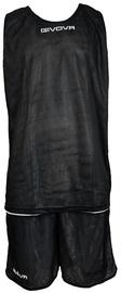 Komplekt Givova Double Basketball Set Black White M