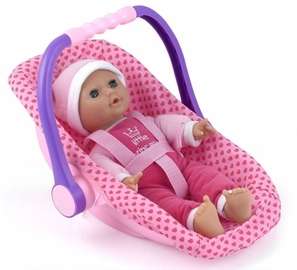 Dolls World Baby Doll 30cm  With Car Seat 016-08550