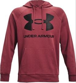 Under Armour Men's Rival Fleece Big Logo Hoodie 1357093 652 Red L