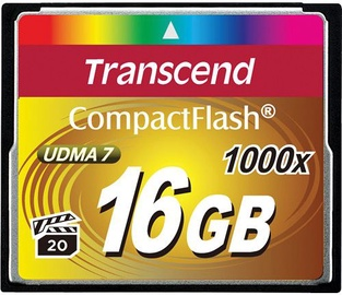 Transcend 16GB Compact Flash Ultimate 1000x