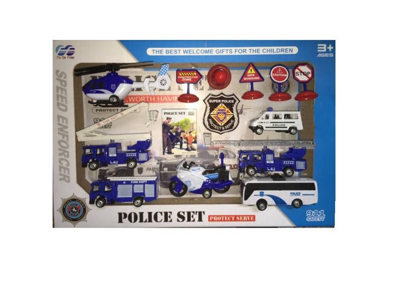 Žaislinis policijos rinkinys