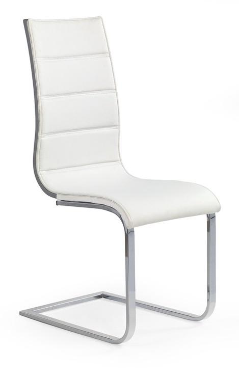 Valgomojo kėdė Halmar K104 Grey/White