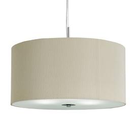 Klasikinis pakabinamas šviestuvas Searchlight Drum Pleat 2356-60CR, 3 x 7W E27