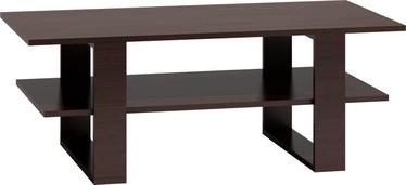 Kafijas galdiņš Top E Shop Martyna, brūna, 1200x600x550 mm