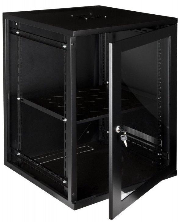 """LMS DATA Rack Cabinet 19"""" 15U CAB-W15U-EL550"""
