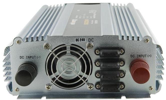 Whitenergy Receptacle Power Inverter 24V DC To 230V AC 1500W