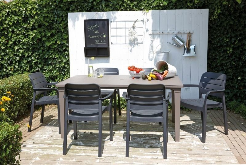Садовый стул Keter Tisara Graphite