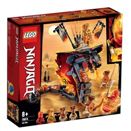 Lego Blocks Ninjago Fire fang 70674