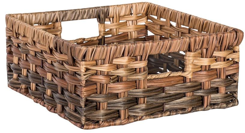 Home4you Basket Rubys 2 26x26x12cm Brown