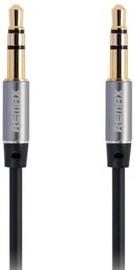 Remax L100 3.5mm Aux Jack Cable 1m Black