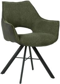 Home4you Eddy Chair Green/Dark Grey