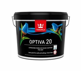 Vandeniniai akriliniai dažai Tikkurila Optiva 20 BA, balti, 9 l