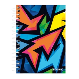 Herlitz Spiral Notepad 200 Sheets