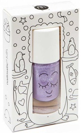 Nailmatic Piglou Nail Polish 8ml Purple With Glitter