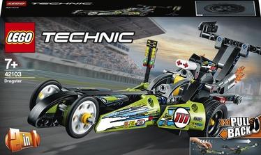 Konstruktor LEGO Technic Kiirendusauto 42103, 225 tk