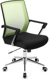 Офисный стул Songmics Office Chair, черный/зеленый