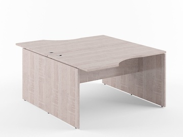 Skyland Xten X2CET 169.3 Double Desk Sonoma Oak