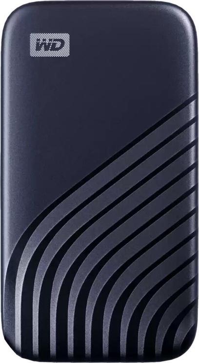 Жесткий диск Western Digital WDBAGF0010BBL-WESN, SSD, 1 TB, синий