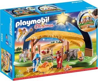 Playmobil Christmas Illuminating Nativity Manger 9494