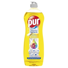 Indų ploviklis Pur Duo Power Lemon, 750 ml