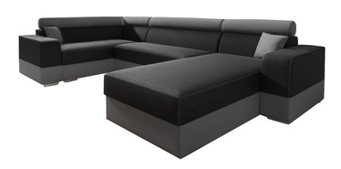 Idzczak Meble Infinity Super Sofa Left Black/Grey